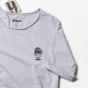 hand made bluzki mini sowa pójdźka oversize unisex