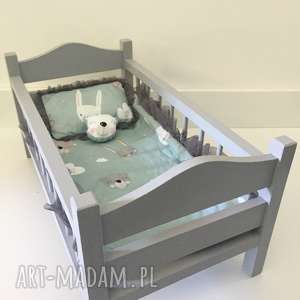 ŁÓŻeczko dla lalek - łóżeczko dla lalek, drewniane