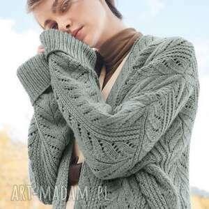 swetry sweter vega, sweter, kardigan, wełniany, dziergany, kobiecy, prezent