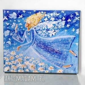 święta, lekkość bytu, dom, obraz, płótno, dzień matki, prezent, na ścianę