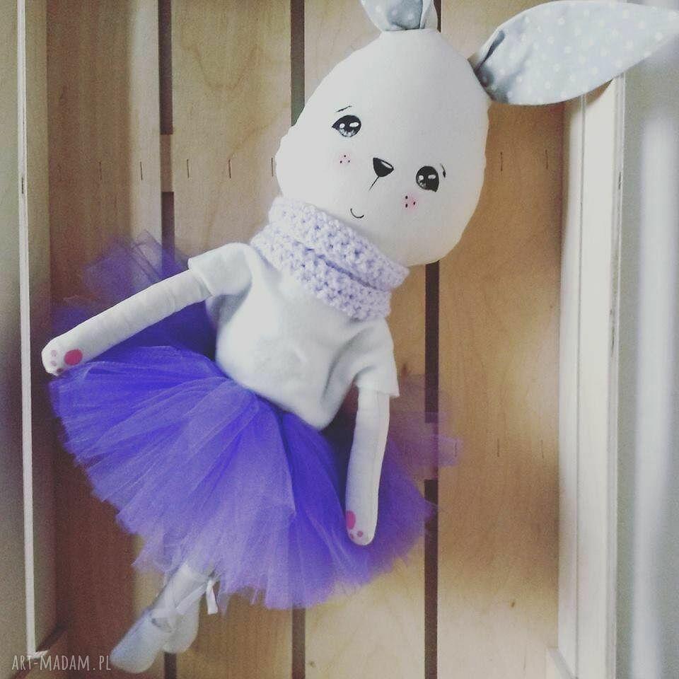 hand-made maskotki królik lili