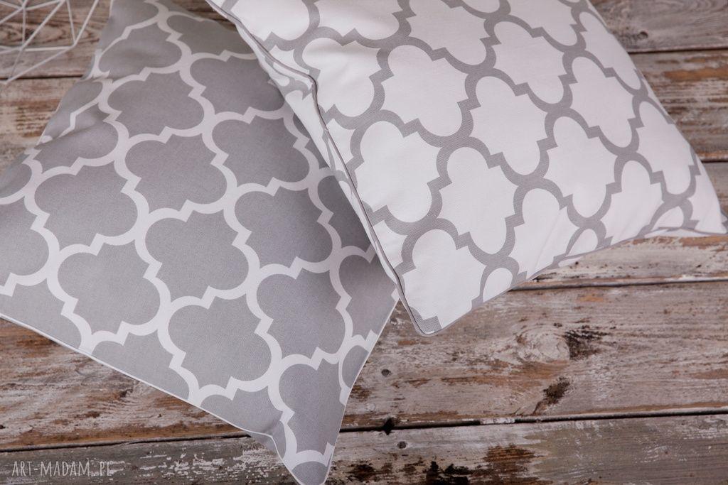 poduszka poduszki białe poszewka na poduszkę koniczyna