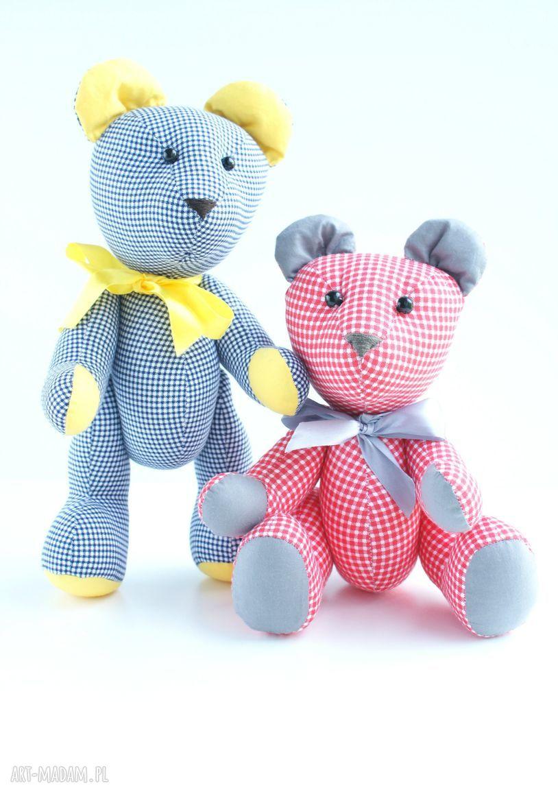 hand-made zabawki misie