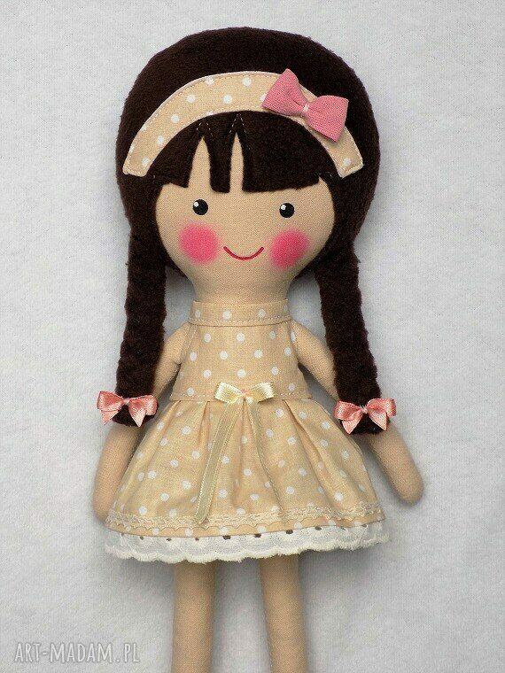 przytulanka lalki malowana lala katarzyna