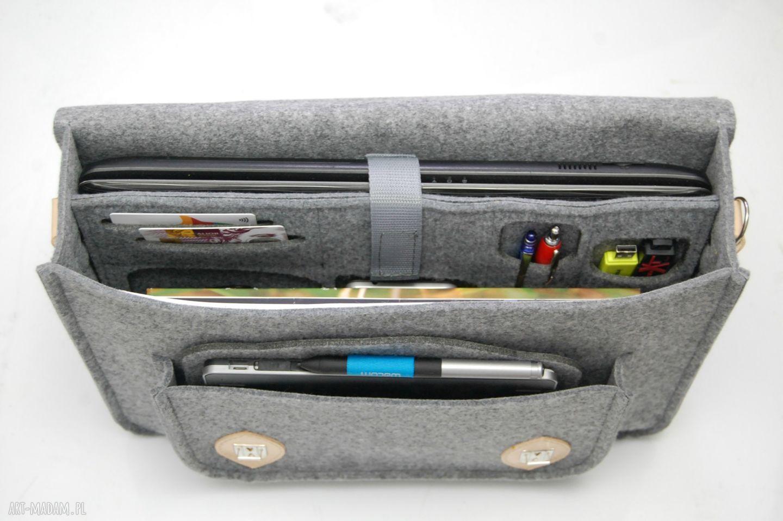 ręczne wykonanie na laptopa laptop filcowa torba
