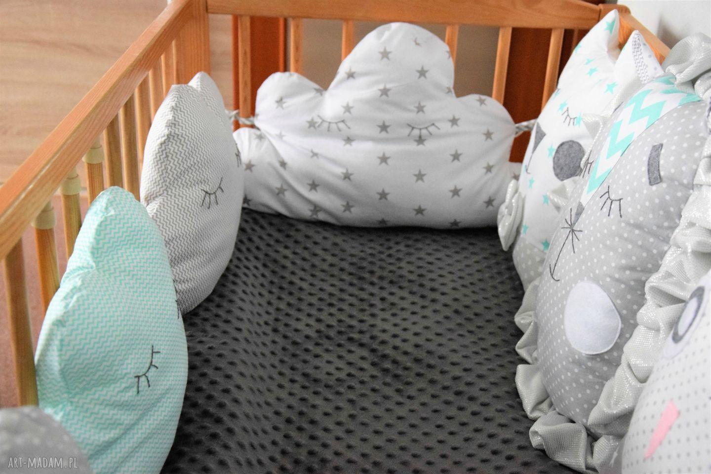 pokoik dziecka modułowy ochraniacz do łóżeczka,