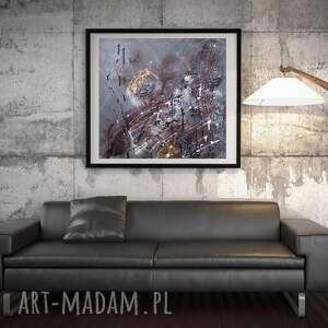 zegar, nowoczesny obraz, obraz do salonu, abstrakcyjny prezent na święta