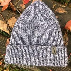 święta, czapka z podwinięciem, ciepła czapka