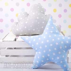 Prezent Poduszka w kształcie gwiazdy NIEBIESKA, gwiazda, prezent, dekoracja, poduszka