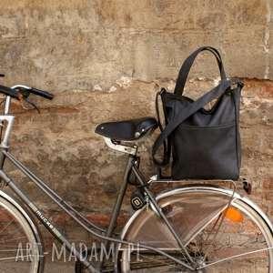 IKS pocket grafit vegan, torba, torebka, casual, shopper