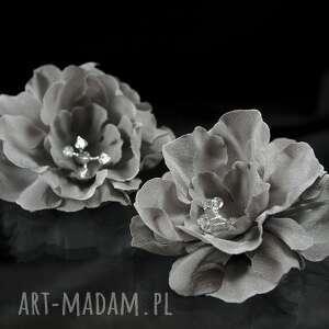święta, jedwabne kwiaty 4, kwiat, swarovski, kryształ, ślub, kokówka, jedwab