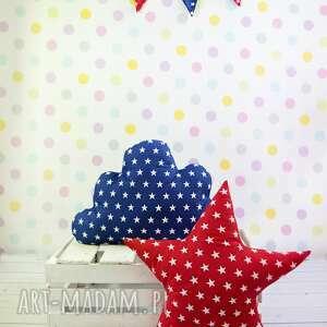 Prezent Poduszka w kształcie gwiazdy CZERWONA, pokój, prezent, dziecko, poduszka