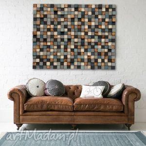 Mozaika drewniana NA ZAMÓWIENIE, mozaika, obraz, płaskorzeźba, dekoracja, ściana