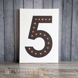 świecąca cyfra dekoracja lampa prezent obraz, cyfra, świecąca, dekoracja, obraz