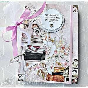 niekończący się notatnik dla marzycielki, notatnik, pamiętnik, kobiecy, planner