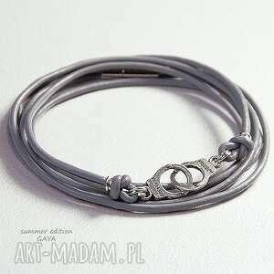 ręcznie wykonane kajdanki grey