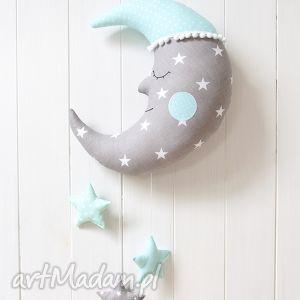 księżyc z gwiazdkami - księżyc, karuzela, gwiazdki, gwiazdy, dekoracja