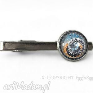 praski zegark - spinka do krawata - vintage