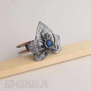 hand made bransoletki bransoleta w kształcie liścia bluszczu