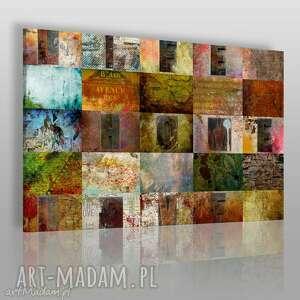 obrazy obraz na płótnie - home love life 120x80 cm 17501, home, love, life, napisy