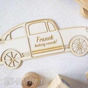 zaproszenie zaproszenia na roczek - samochód, zaproszenie, roczek, pierwsze