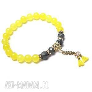 handmade troki /yellow/ - bransoletka