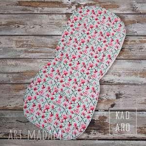handmade dla dziecka wkładka do wózka spacerówki magnolie