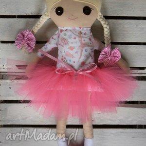 szmacianka, szmaciana laleczka baletnica, szmaciana, lalka, przytulanka