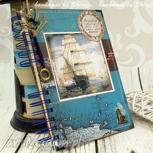notatnik - morskie opowieści, notes, morski, statki, notatnik, zapiśnik