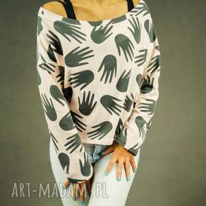 handmade bluzy bluza łapciuch
