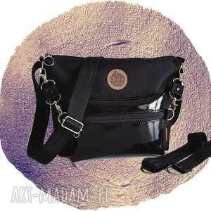 handmade mini torebka modułowa black 4w1 - mirror