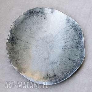 Ceramika pracownia ako patera, salon, kuchnia, talerz, na owoce,