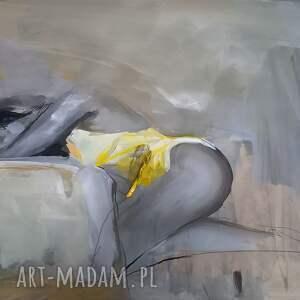 woman 100x70, obraz do salonu, zmysłowy obraz, kobieta w sztuce