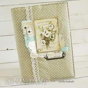 handmade scrapbooking notesy notatnik w miękkiej okładce, 144