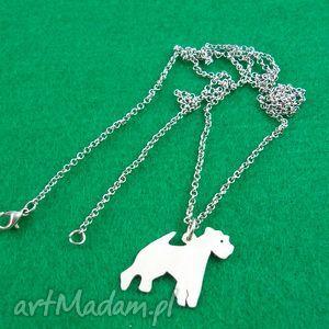 handmade naszyjniki naszyjnik terrier walijski pies nr