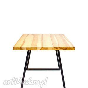 stoły stół iroko industrialny minimalistyczny unikat, stół, jadalnia