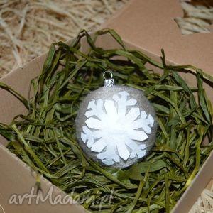 dekoracje bombki choinkowe skandynawskie 8cm - boże narodzenie, ekobombka
