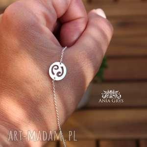 ręcznie wykonane bransoletka zodiac - rak