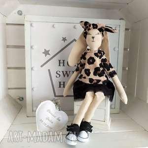 krolik tilda lalka na chrzest szmacianka, królik, tilda
