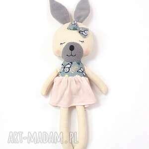 patchworkmoda lala przytulanka króliczka julia, lala, króliczka, królik