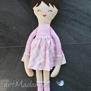 ogromna lalka, 75 centymetrów, różowa księżniczka, laleczka szmacianka