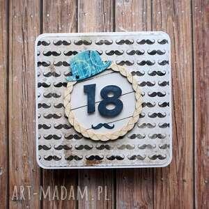 kartki urodziny po męsku, urodziny, męski, życzenia, wąsy, kapelusz, facet