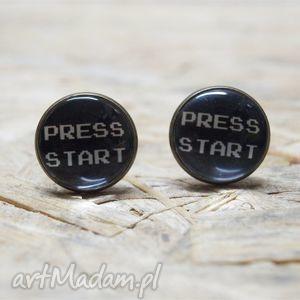 press start - śmieszne, prezent