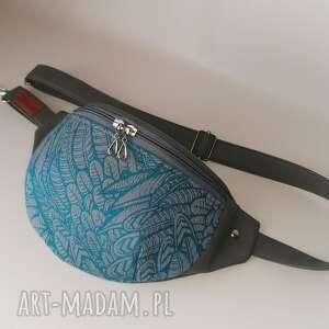 nerka saszetka biodrowa handmade torebka na pas ramię wolny duch