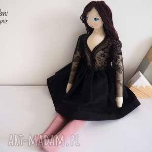 lalka #164, przytulanka, szmacianka, naturalna, lalka, pierwsza, koronkowa
