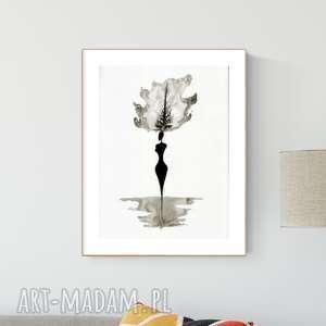 ART Krystyna Siwek? grafika 30x40 cm wykonana ręcznie
