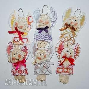 magosza takie koleżanki aniołki z masy solnej, anioły, dekoracja, prezent