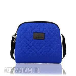 mini simple color 167, mini, torebka, niebieska