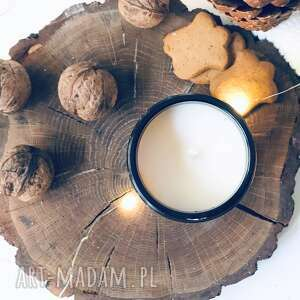 dekoracje świeca sojowa magia świąt, sojowa, swieca swiateczna, eko