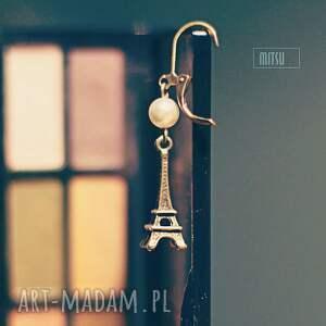 Eiffel tower mitsu eifel, wieża, vintage, perła, romantyczne,